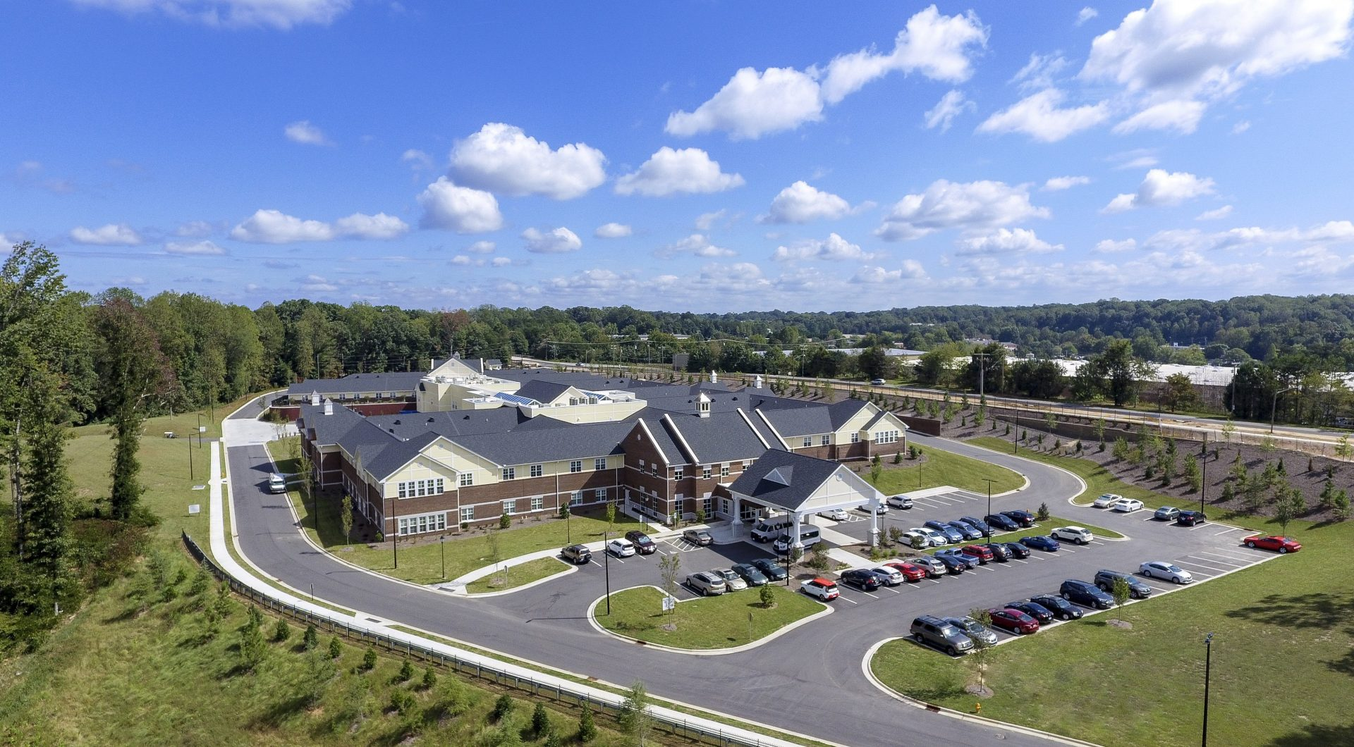 Salemtowne Health Care Center Aerial View