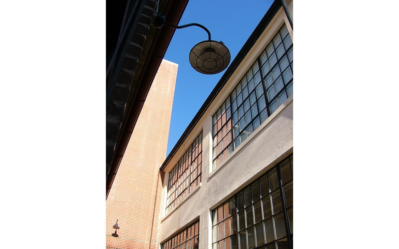 Dan River Crossing Apartments Windows and Light Looking Up