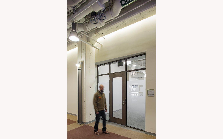 525@vine door and man walking