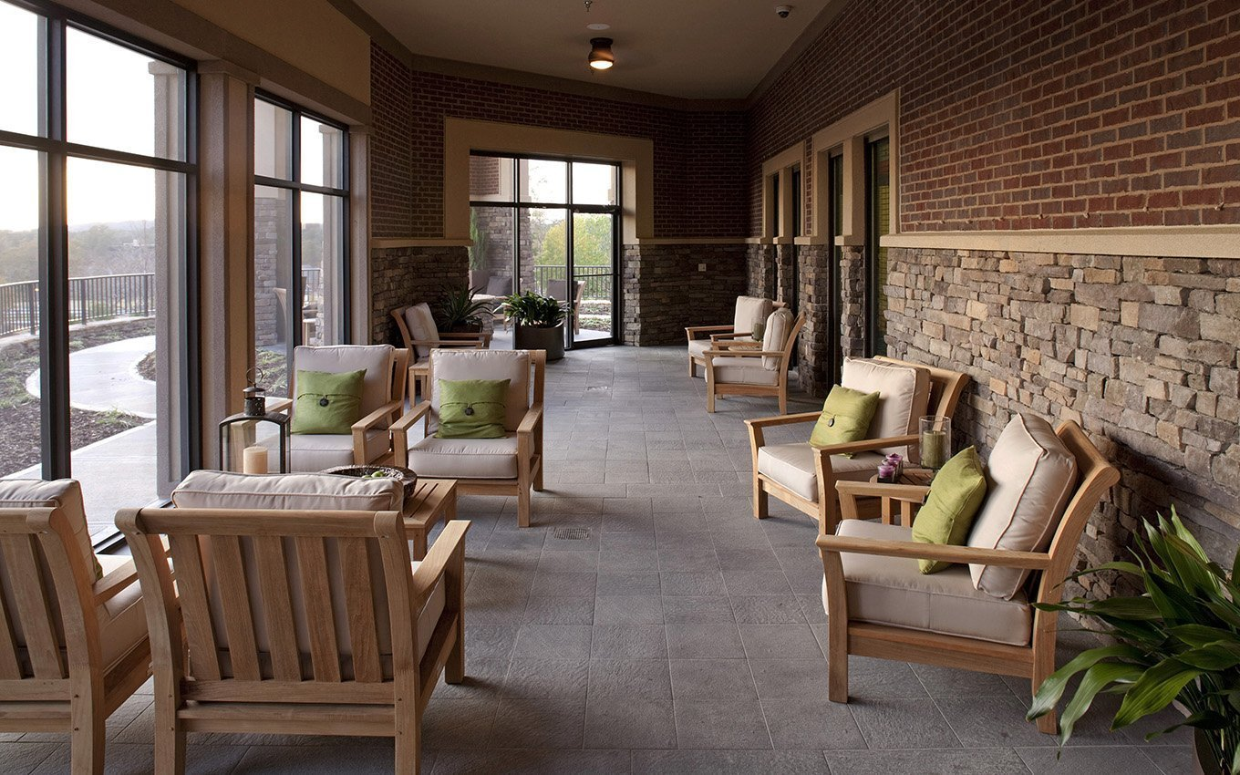 Danberry at Inverness Enclosed Porch and Seating