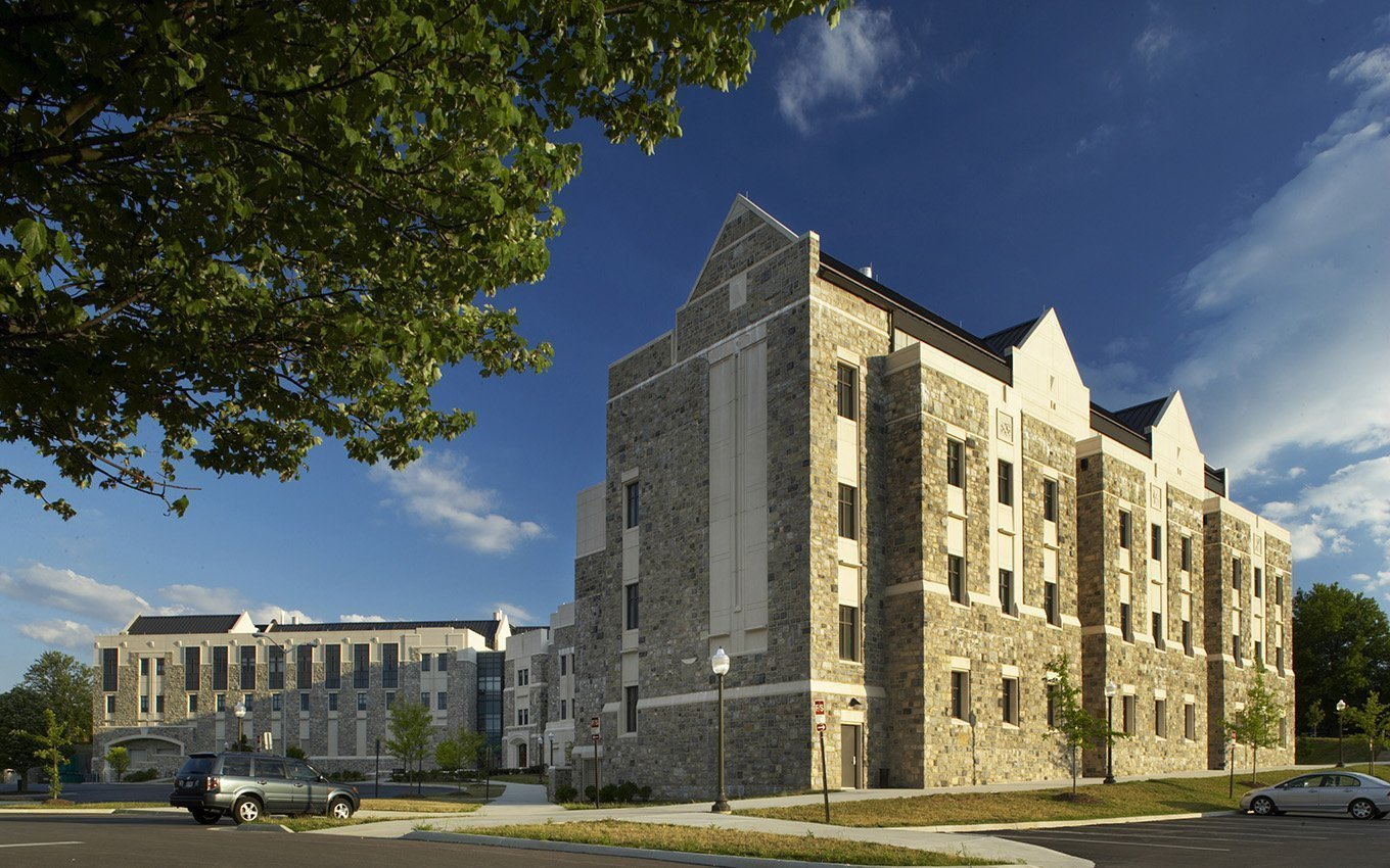The Biocomplexity Institute of Virginia Tech Exterior