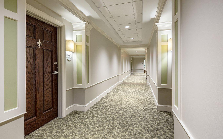 Glenaire Resident Hallway