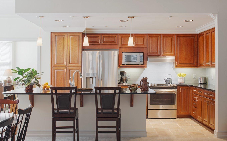 Glenaire open kitchen