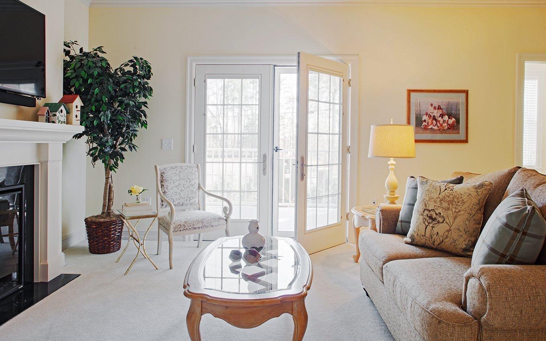 Glenaire Resident Living Room