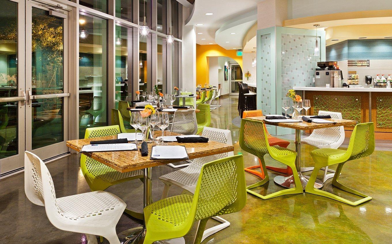 Hotel Indigo Asheville Cafe interior