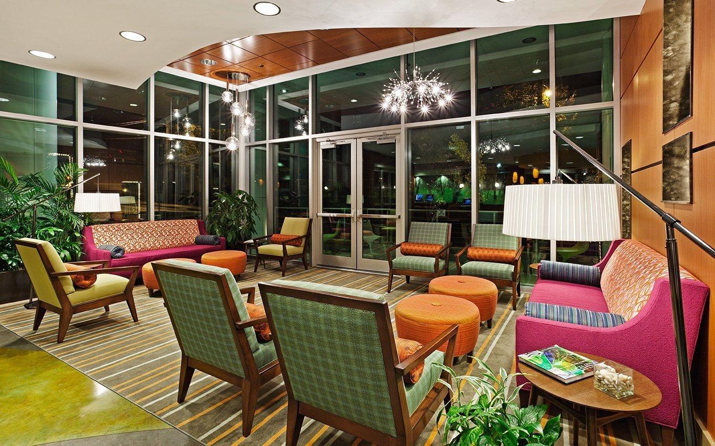 Hotel Indigo Asheville Lobby