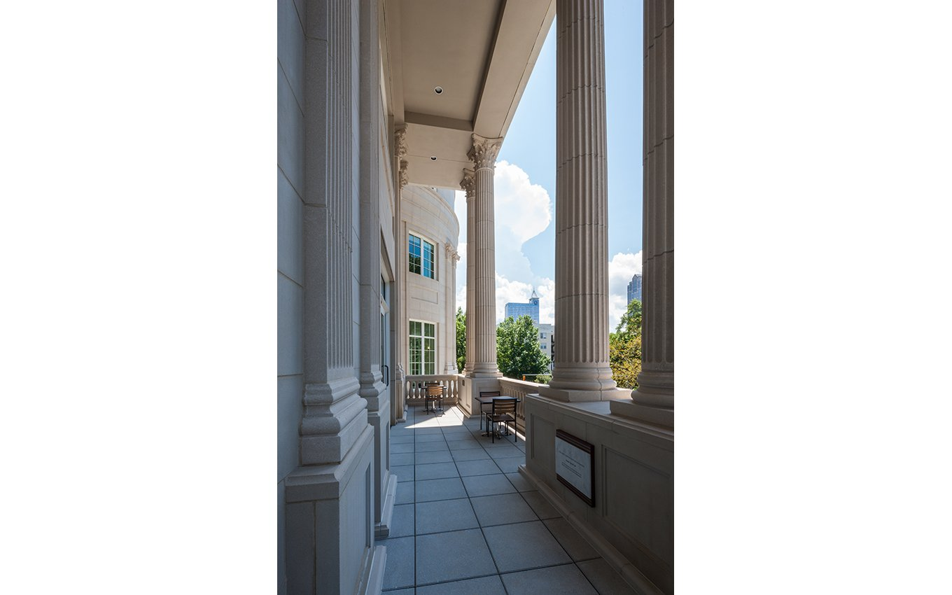 NC State Bar Headquarters Exterior Columns