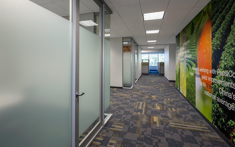 PepsiCo Offices Hallway