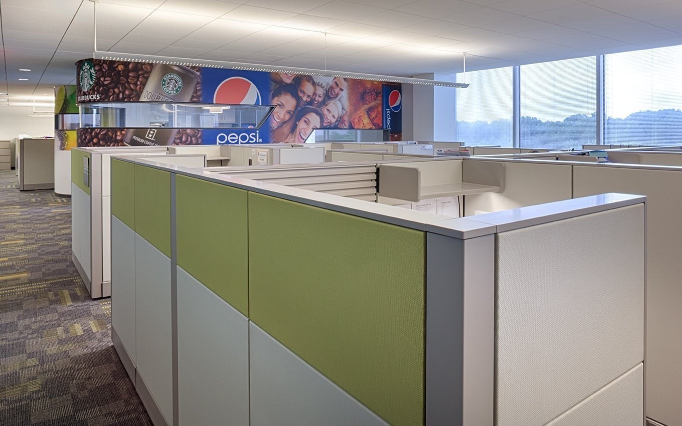 PepsiCo Open Office Area