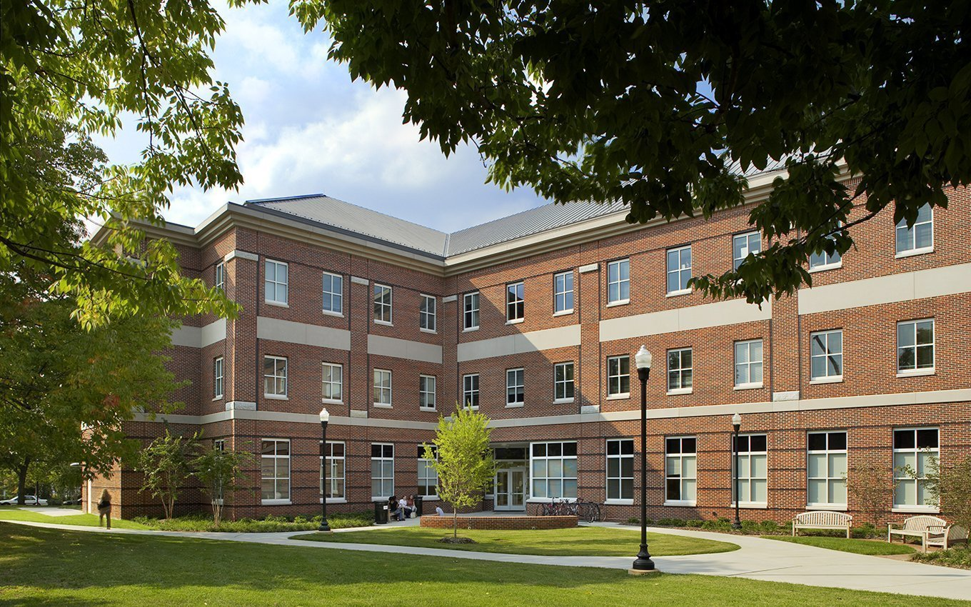 Moore Hall at UNC Greensboro