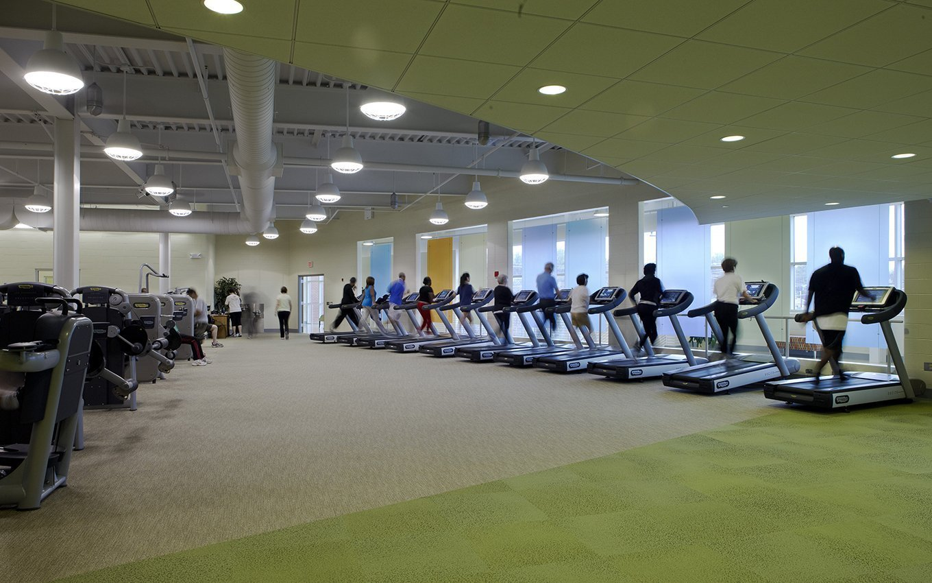 Gatweay YWCA Fitness Room