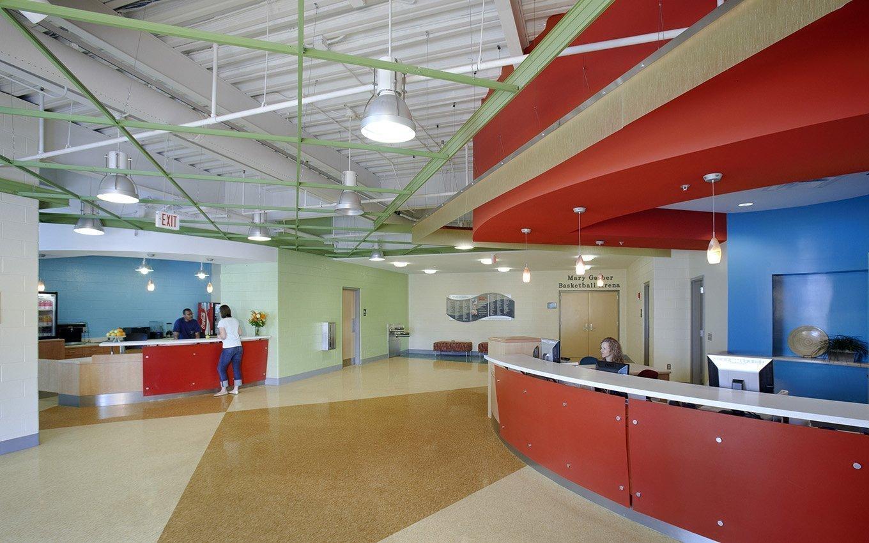 Gateway YWCA Lobby with Entrance Desk