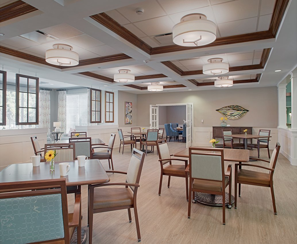 Aldersgate Asbury Center Dining Area